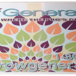 Banner for trade show